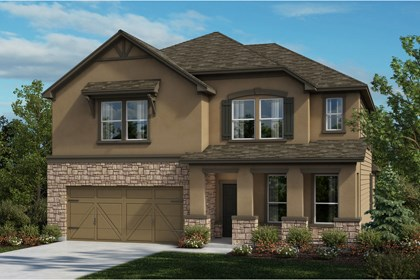 New Homes in Universal City, TX - The 3417 D