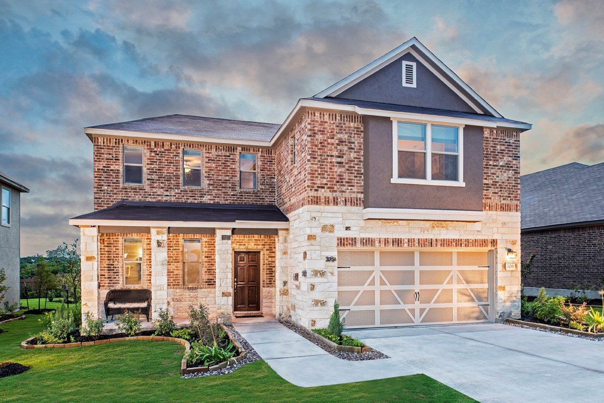New Homes in Universal City, TX - Copano Ridge The 2502