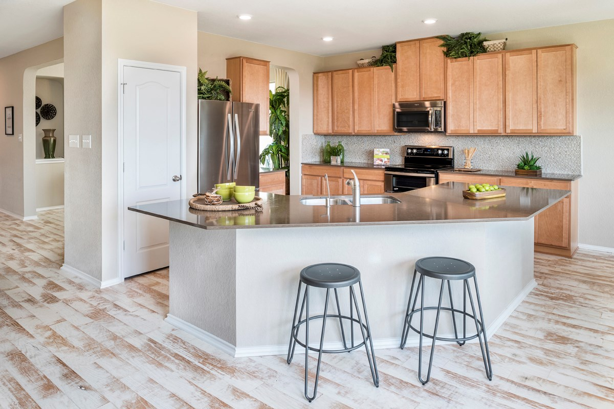 New Homes in Universal City, TX - Copano Ridge The 2502 Kitchen
