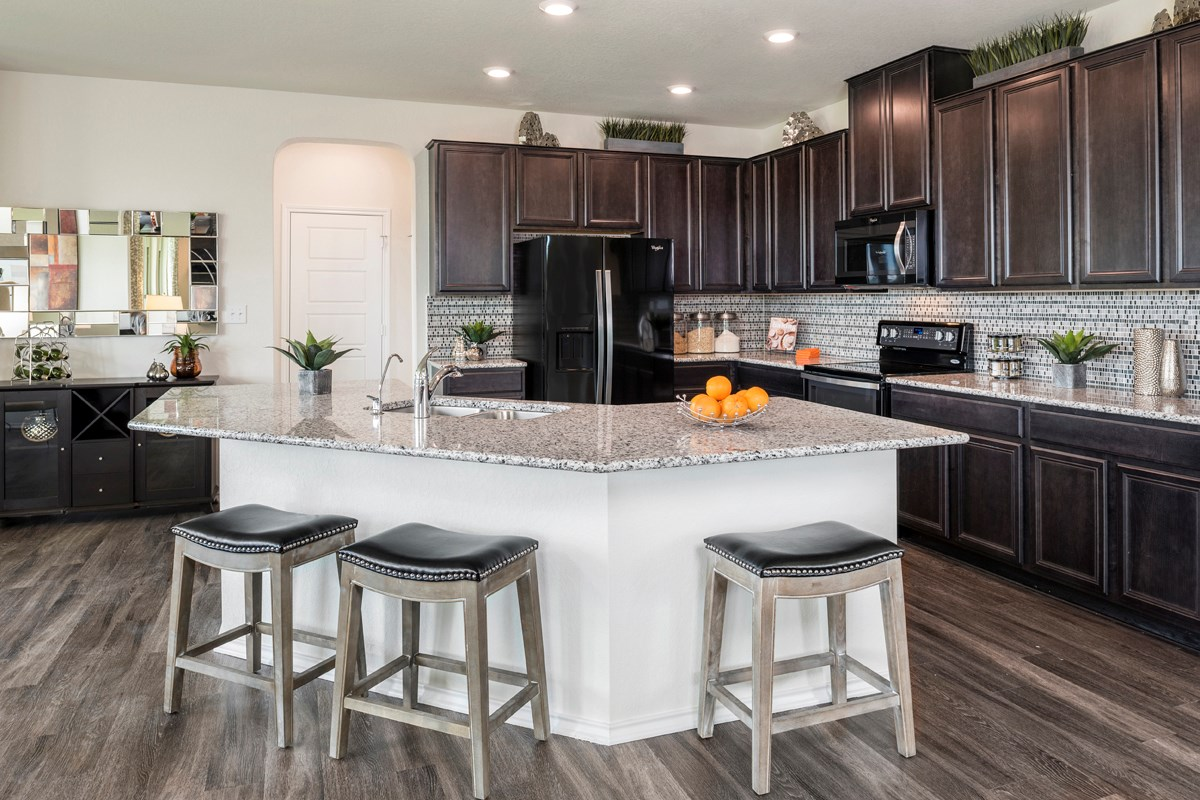 New Homes in Universal City, TX - Copano Ridge The 2755 Kitchen