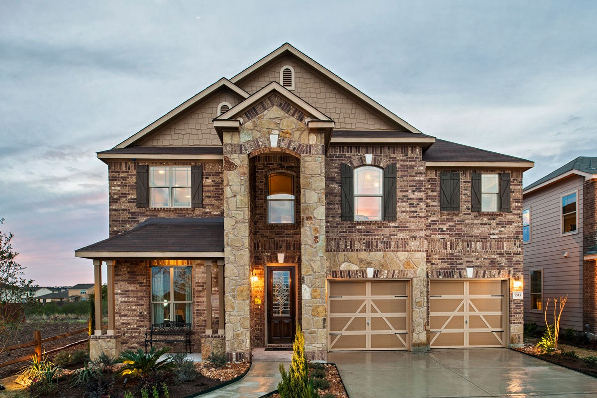 New Homes in Converse, TX - Heights of Copperfield The 2755