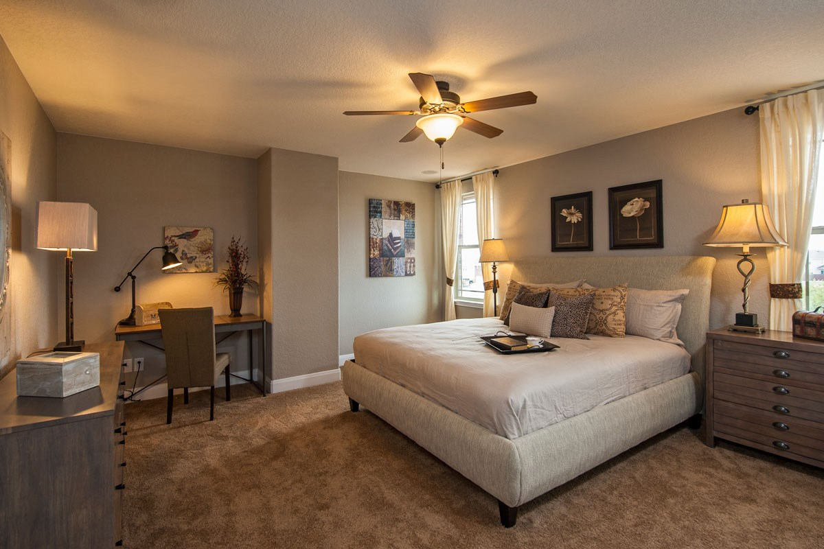 New Homes in Converse, TX - Heights of Copperfield The 2755 Master Bedroom