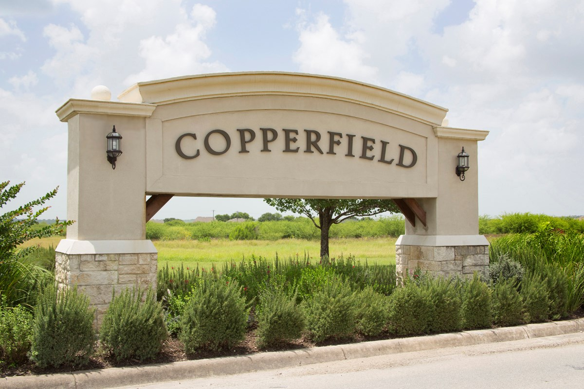 New Homes in Converse, TX - Heights of Copperfield Community Entry