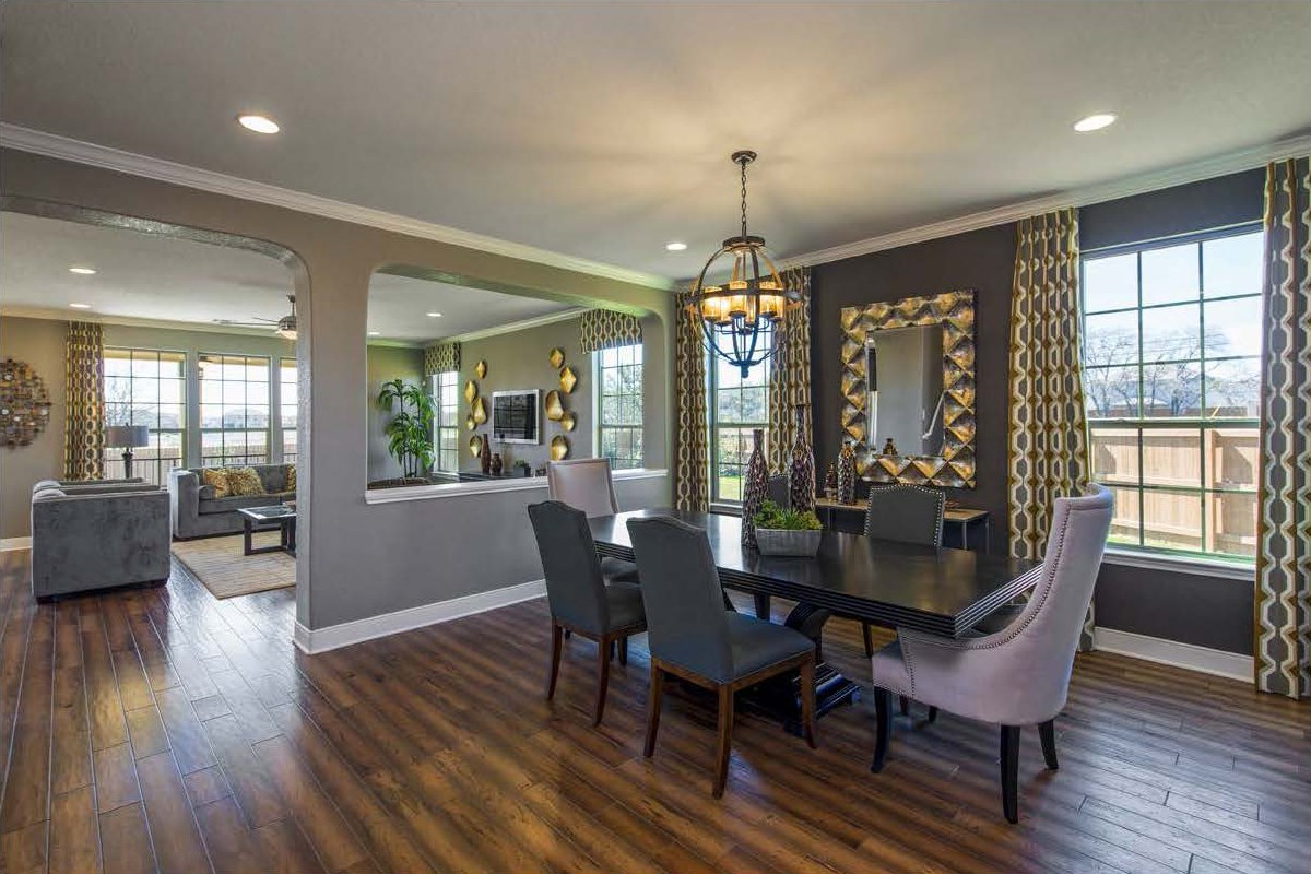 New Homes in San Antonio, TX - CrossCreek - Classic Collection The 3475 Dining