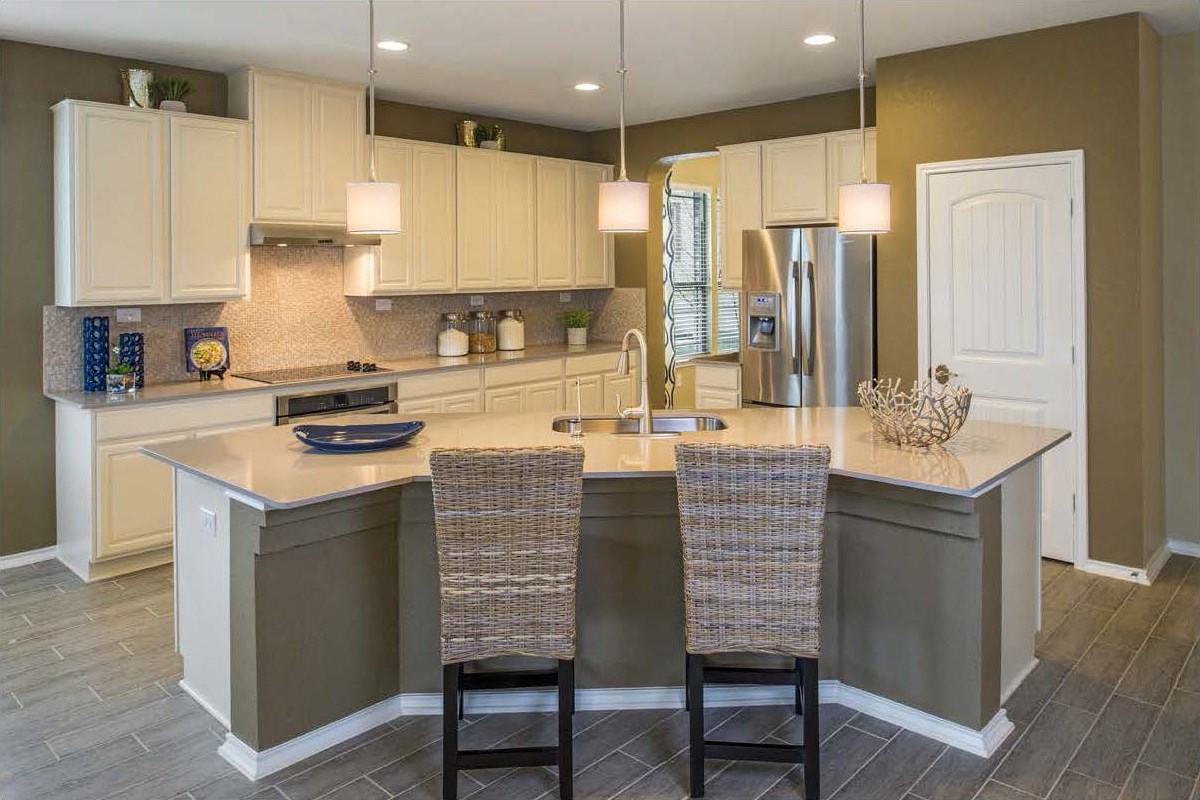 New Homes in San Antonio, TX - CrossCreek - Classic Collection The 2382 Kitchen
