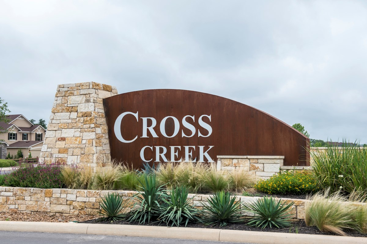 New Homes in San Antonio, TX - CrossCreek - Classic Collection Community Entry