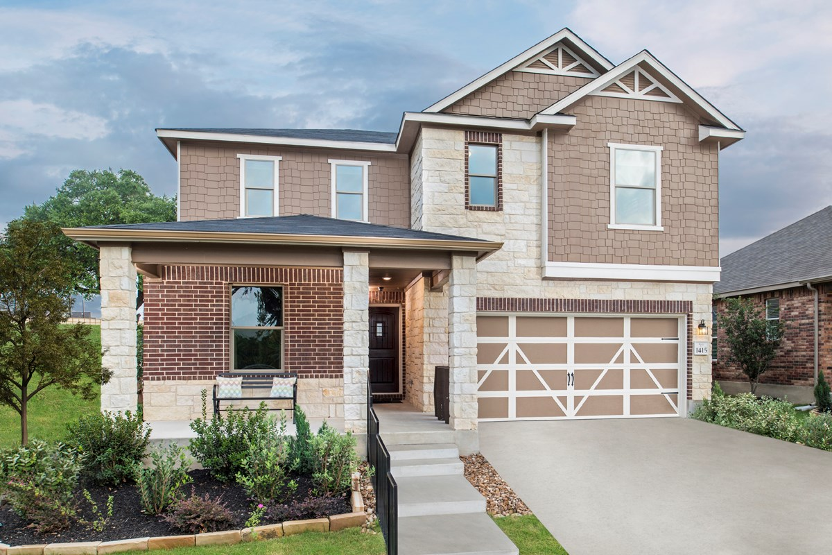 New Homes in San Antonio, TX - Dove Creek The 2403