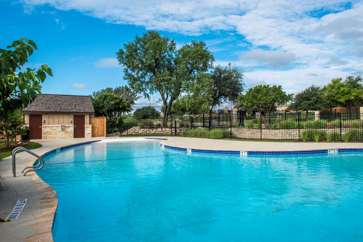 New Homes in San Antonio, TX - Dove Creek Community Pool