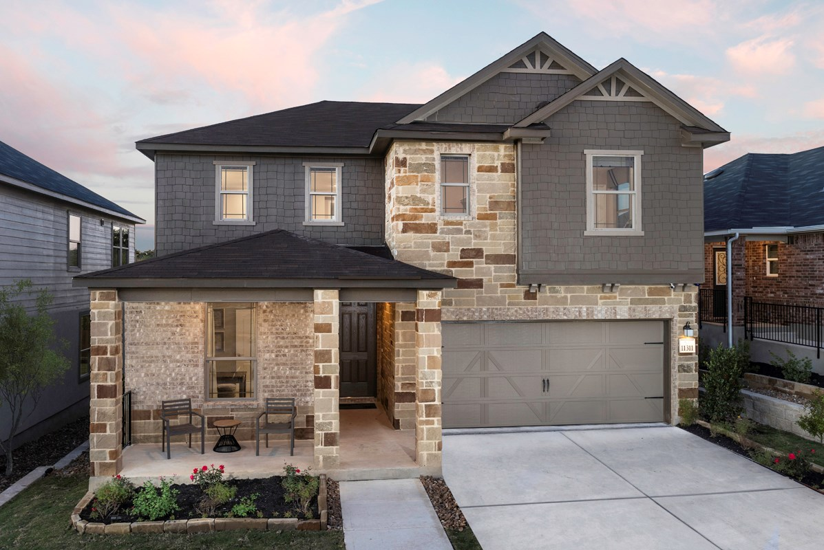 New Homes in Seguin, TX - Woodside Farms The 2403 as modeled at Dove Heights