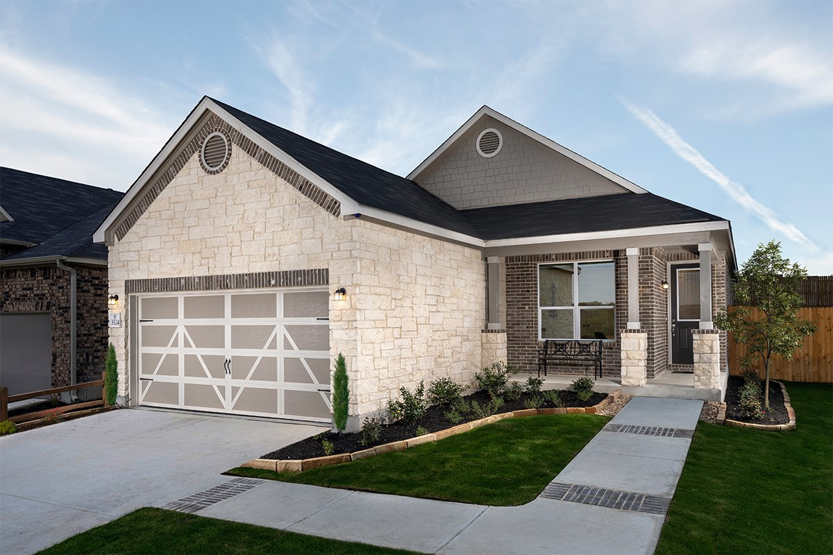 New Homes in Bulverde, TX - Edgebrook The 1516