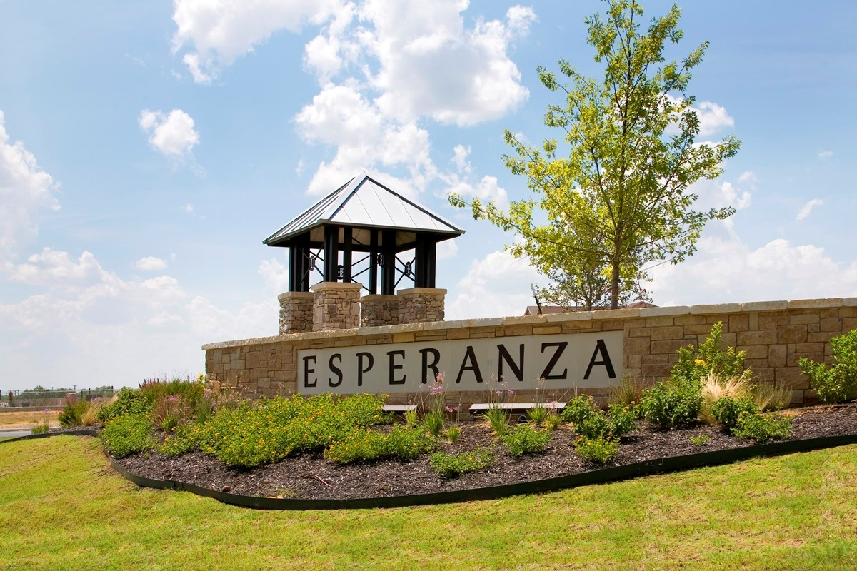 New Homes in San Antonio, TX - Esperanza Esperanza Community Entry