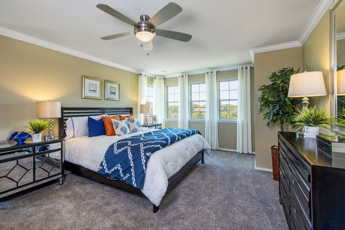 New Homes in San Antonio, TX - Falcon Landing The 2505 Master Bedroom