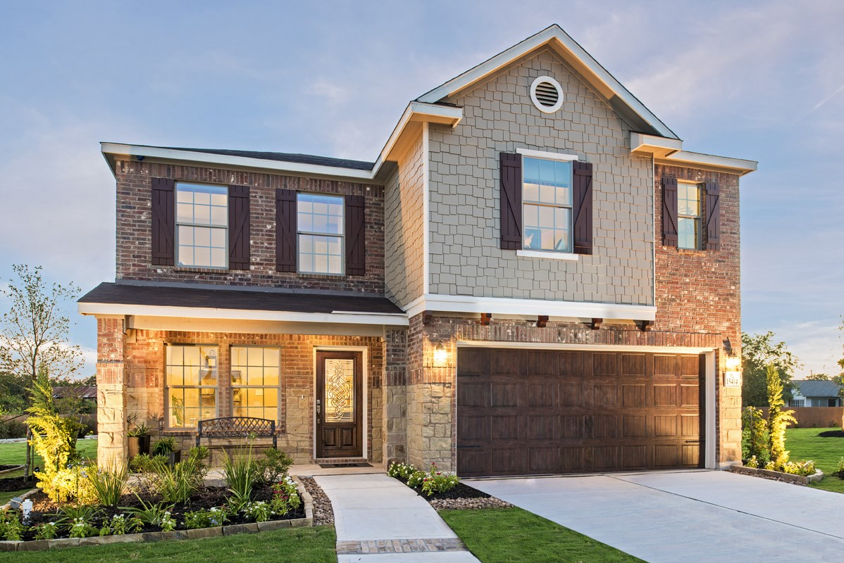 New Homes in San Antonio, TX - Falcon Landing The 2505