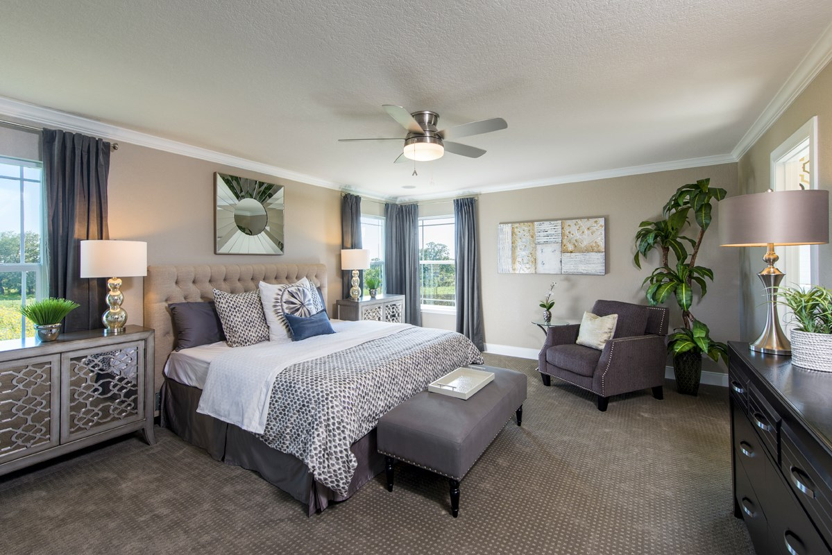 New Homes in San Antonio, TX - Falcon Landing The 2898 Master Bedroom
