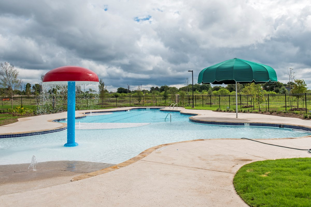 New Homes in San Antonio, TX - Falcon Landing Community Pool