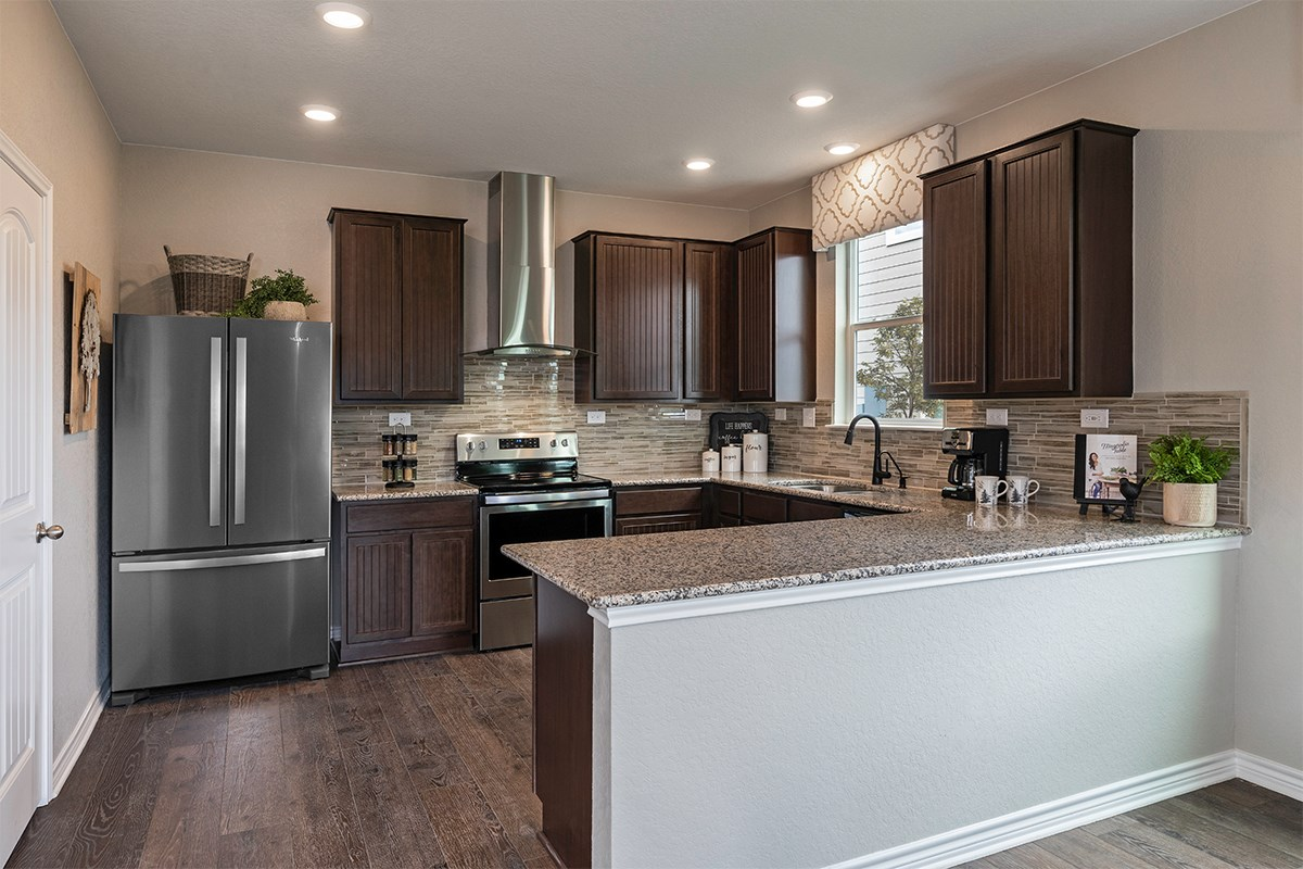 New Homes in San Antonio, TX - Falcon Landing The 2239 Kitchen