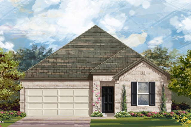New Homes in San Antonio, TX - The 1491 A