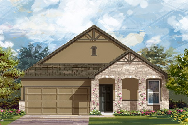 New Homes in San Antonio, TX - The 1491 D