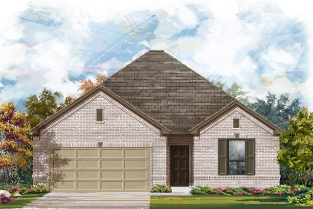 New Homes in New Braunfels, TX - The 1675 A