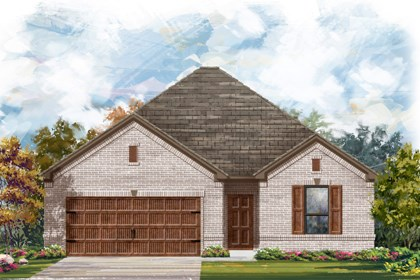 New Homes in Cibolo, TX - The 1675 A