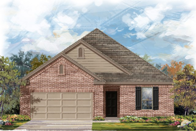 New Homes in New Braunfels, TX - The 1675 B