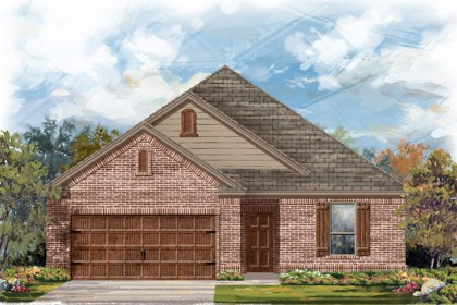 New Homes in Cibolo, TX - The 1675 B