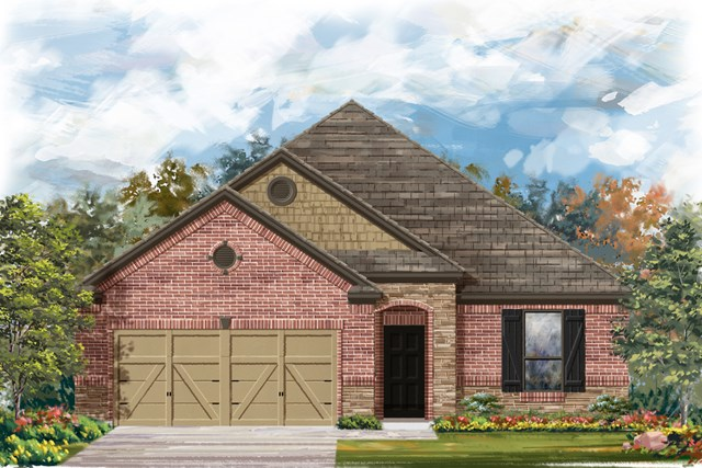 New Homes in New Braunfels, TX - The 1675 C
