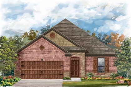 New Homes in Cibolo, TX - The 1675 C