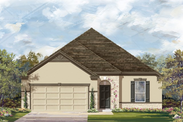 New Homes in New Braunfels, TX - The 1675 D