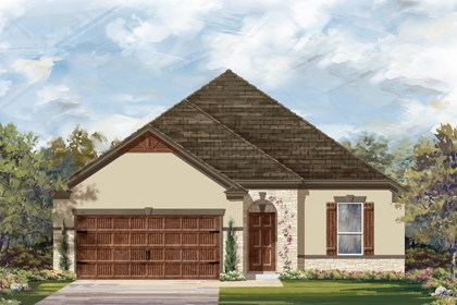 New Homes in Cibolo, TX - The 1675 D