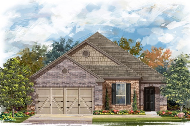 New Homes in Converse, TX - Plan 1710 3