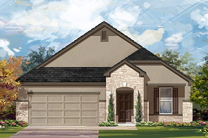 New Homes in New Braunfels, TX - The 1792 D