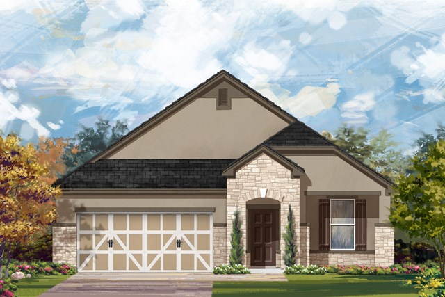 New Homes in San Antonio, TX - The 1792 D