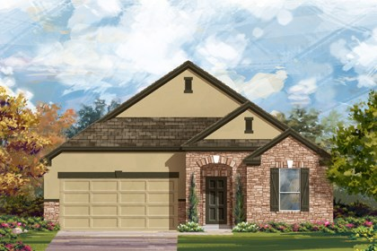 New Homes in Bulverde, TX - The 2004 D