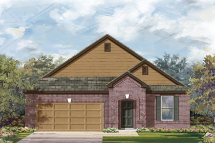 New Homes in Cibolo, TX - The 2089 B
