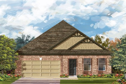 New Homes in Cibolo, TX - The 2089 C