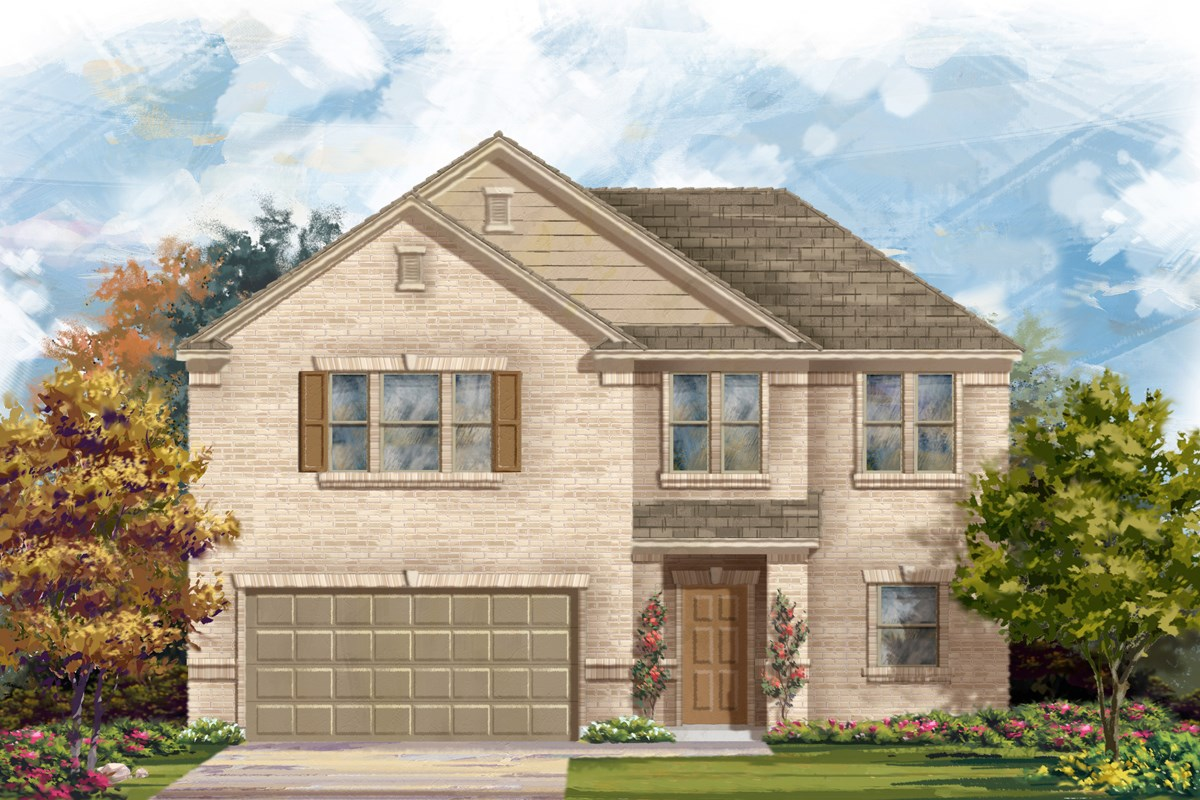 New Homes in San Antonio, TX - Canyon Crest The 2183 A
