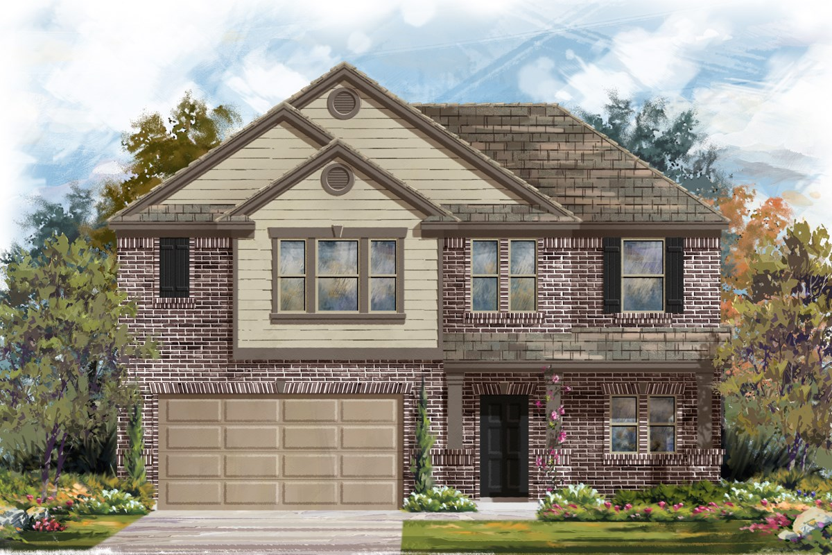 New Homes in San Antonio, TX - Canyon Crest The 2183 B
