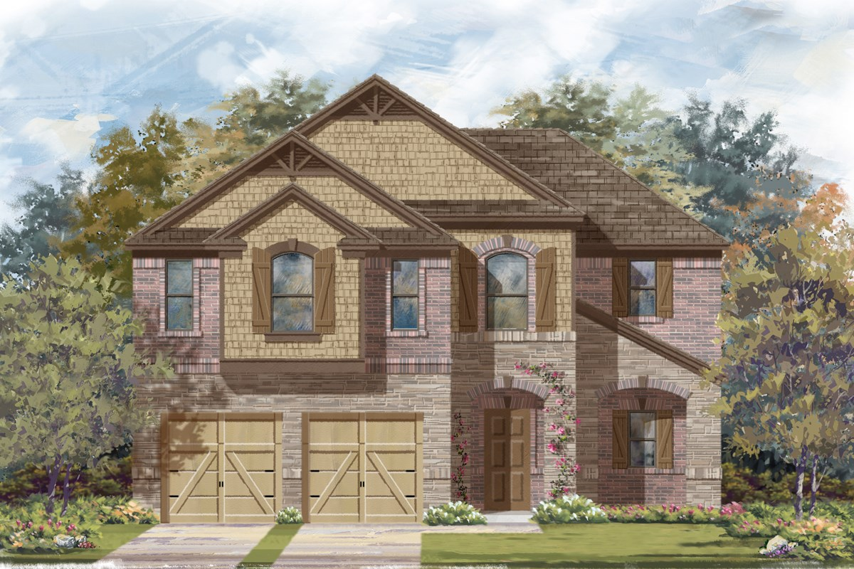New Homes in San Antonio, TX - Canyon Crest The 2183 C
