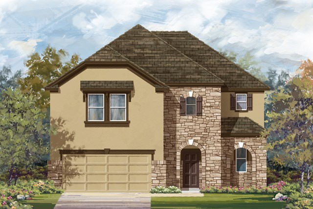 New Homes in San Antonio, TX - The 2183 D