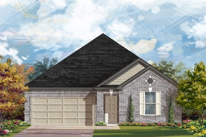 New Homes in New Braunfels, TX - The 2382 A