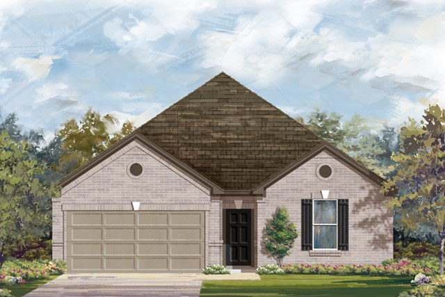 New Homes in San Antonio, TX - The 2382 B