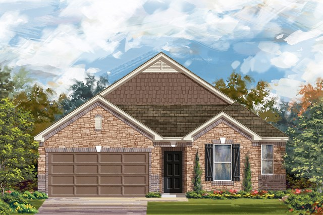New Homes in San Antonio, TX - The 2382 C
