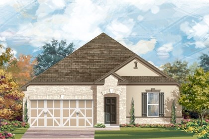 New Homes in San Antonio, TX - The 2382 D