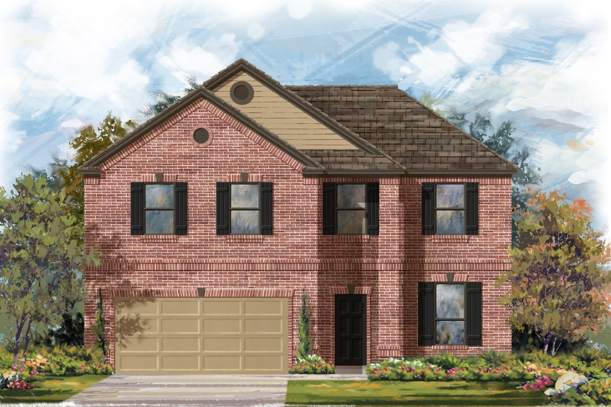 New Homes in San Antonio, TX - Canyon Crest The 2469 B