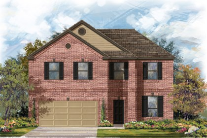 New Homes in San Antonio, TX - The 2469 B