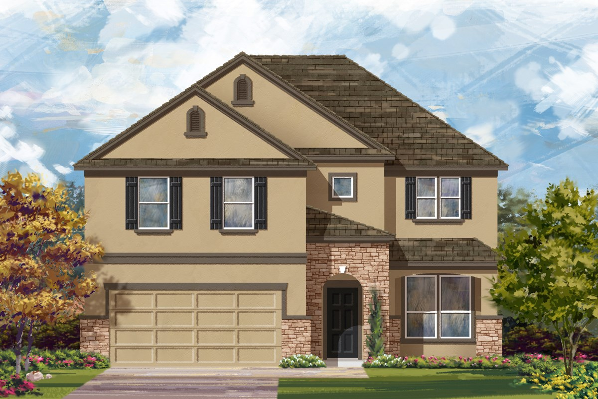 New Homes in San Antonio, TX - Canyon Crest The 2469 D
