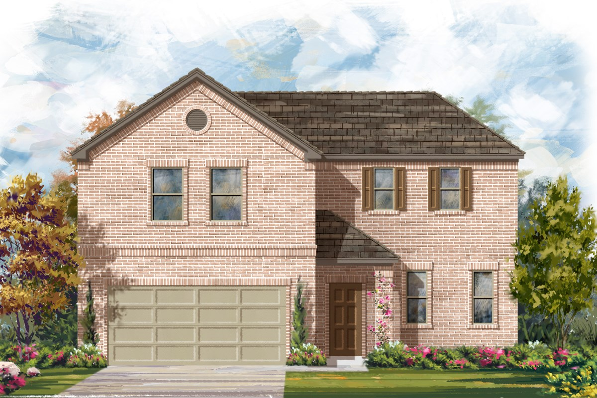 New Homes in San Antonio, TX - Canyon Crest The 2502 A
