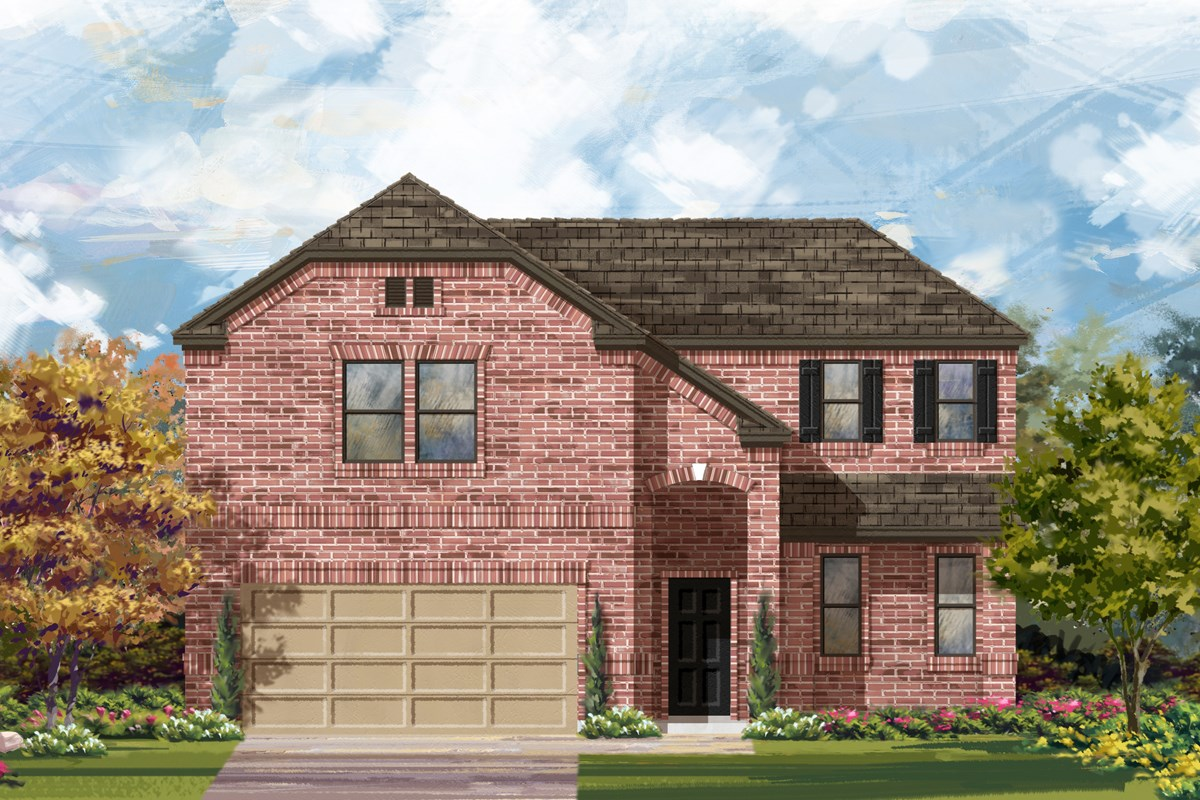 New Homes in San Antonio, TX - Canyon Crest The 2502 B