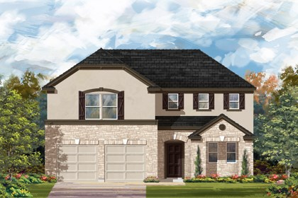 New Homes in Bulverde, TX - The 2502 D